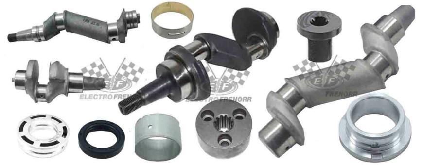 EBS, ABS, ECU, EB, Sensores ABS.
