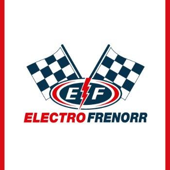 Logo electrofrenorr repuestos camiones y buses